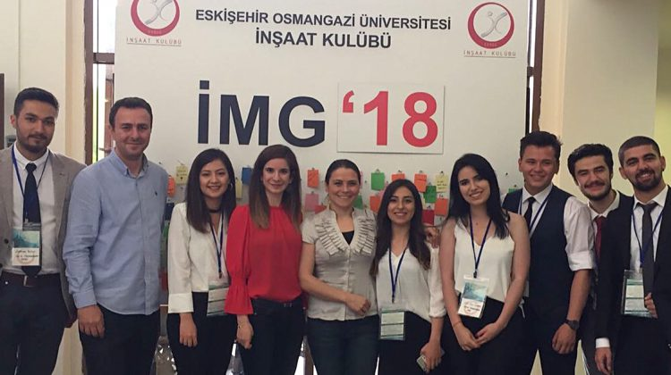 "Prota Sponsored the ""Civil Engineering Days"" Event of Eskisehir Osmangazi University"